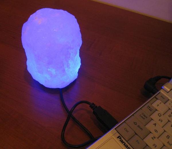 Сделать солевую лампу своими руками